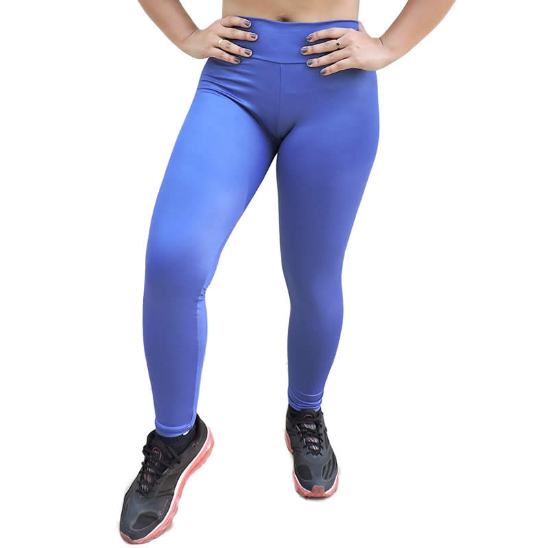 Cal�a Legging Cirr� Preta ou Azul Cintura Alta - DB101
