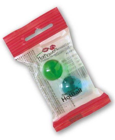 �leo Corporal Hot Ball Beija Muito Sabores Sortidas Lubrificante - HFHC225
