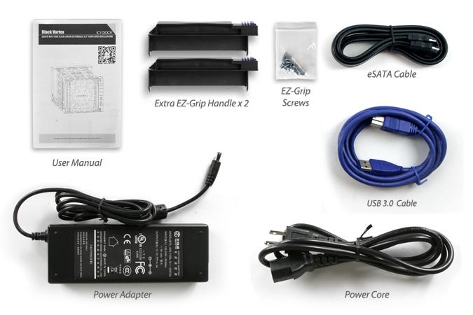 HD + Case Icy Dock Black Vortex 20TB  - Rei dos HDs
