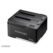 Dock Akasa DuoDock X2 USB 3.0 2HDs