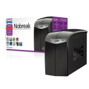 Nobreak SMS Net Station II 600VA Bivolt 115 com Extensão Elétrica Inclusa