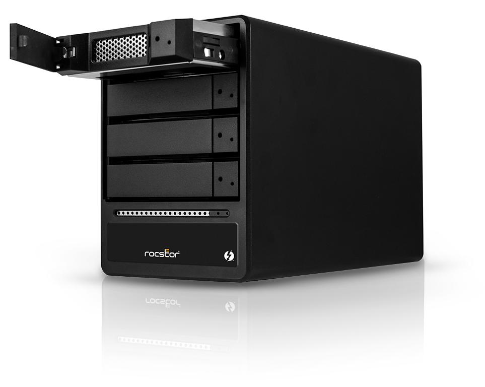 HD + Case Rocstor Rocpro T24 Thunderbolt 2 4TB  - Rei dos HDs