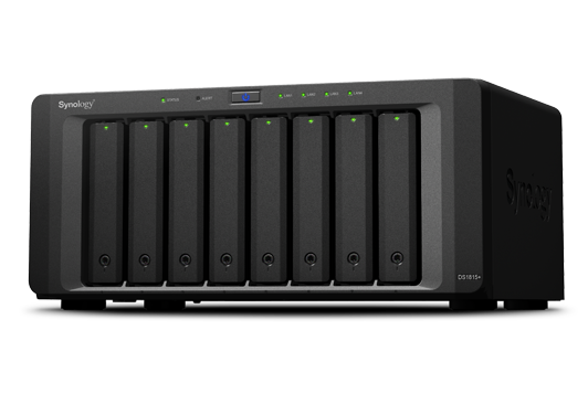 Case Synology DiskStation DS1815+ 8Bay 0TB  - Rei dos HDs