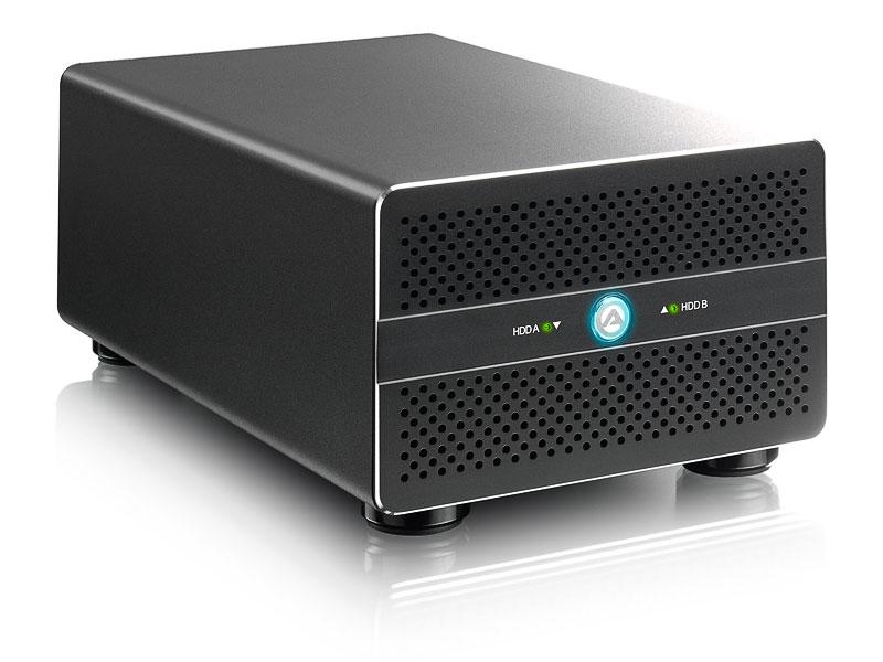 HD + Case AKiTiO Thunder2 Duo Pro 20TB  - Rei dos HDs