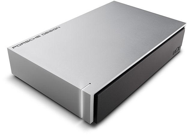 HD LaCie Porsche Mac Design 5TB  - Rei dos HDs