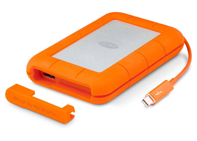 HD LaCie Rugged Thunderbolt 1TB  - Rei dos HDs