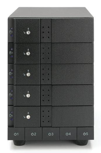 HD + Case Oyen Digital Mobius 5-Bay Thunderbolt 2 20TB  - Rei dos HDs