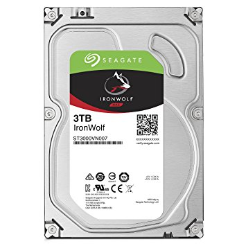 HD Seagate IronWolf NAS HDD 3TB  - Rei dos HDs