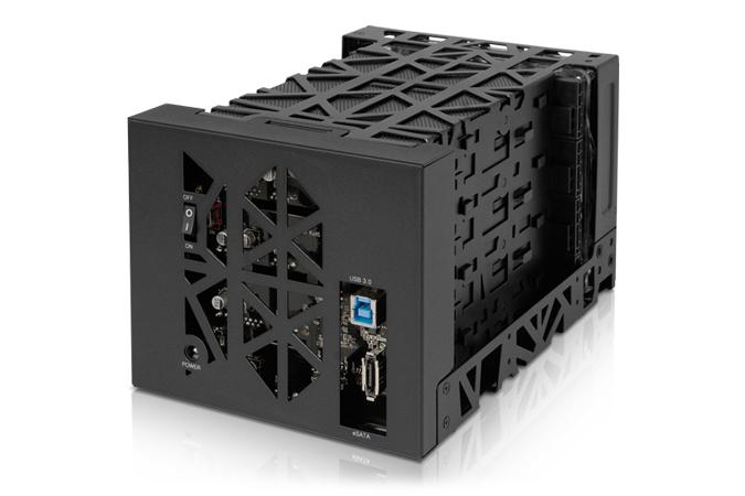 HD + Case Icy Dock Black Vortex 4TB  - Rei dos HDs