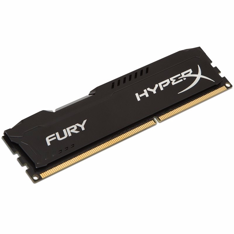 Memória Kingston HyperX Fury 1600MHz DDR3 8GB PRETA  - Rei dos HDs