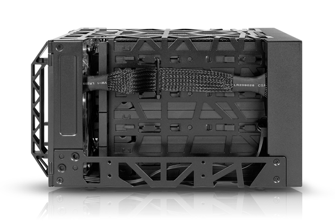 Case Icy Dock Black Vortex 0TB - Rei dos HDs