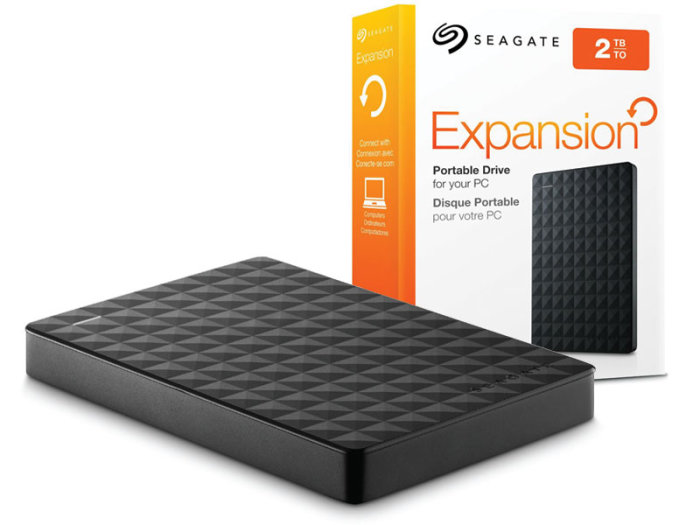 HD Seagate Expansion New Portátil 2TB  - Rei dos HDs