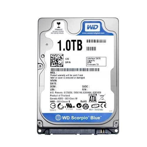 HD WD Blue 2.5 1TB  - Rei dos HDs