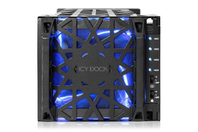 HD + Case Icy Dock Black Vortex 12TB  - Rei dos HDs