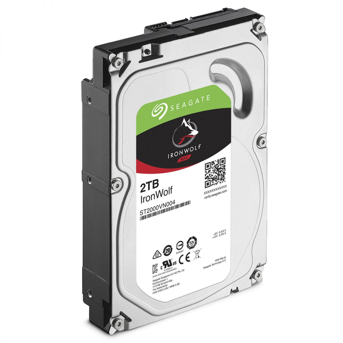 HD Seagate IronWolf NAS HDD 2TB  - Rei dos HDs