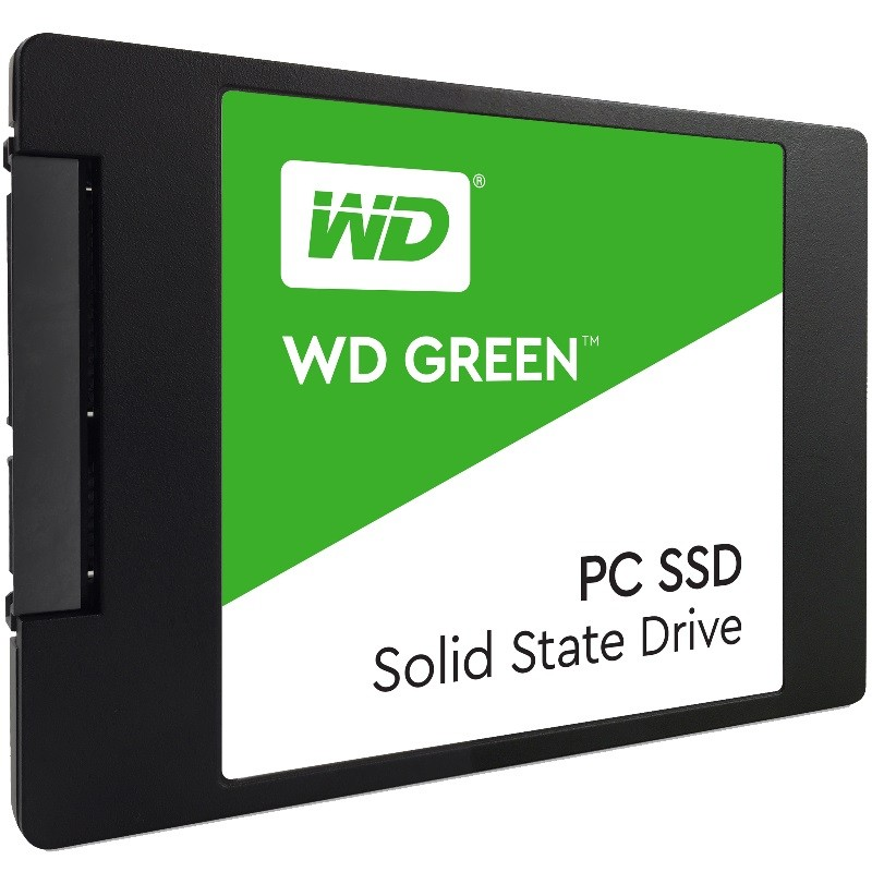 SSD WD Green 120GB  - Rei dos HDs