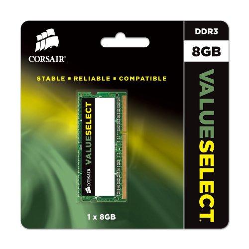 Memória Corsair Value Select 1333MHz DDR3L 8GB  - Rei dos HDs