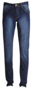 Calça masc. slim jeans escuro
