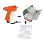 Super Kit Aplicador Tags, Preços + 5000 Pins +1000 Etiquetas (Laranja)