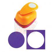 Furador Scrapbook Circulo Liso 6,3 cm Esfera Roda P/ Papel ou Fotos