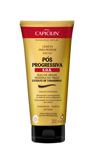 Leave In para Pentear Pós Progressiva S.O.S 200ml