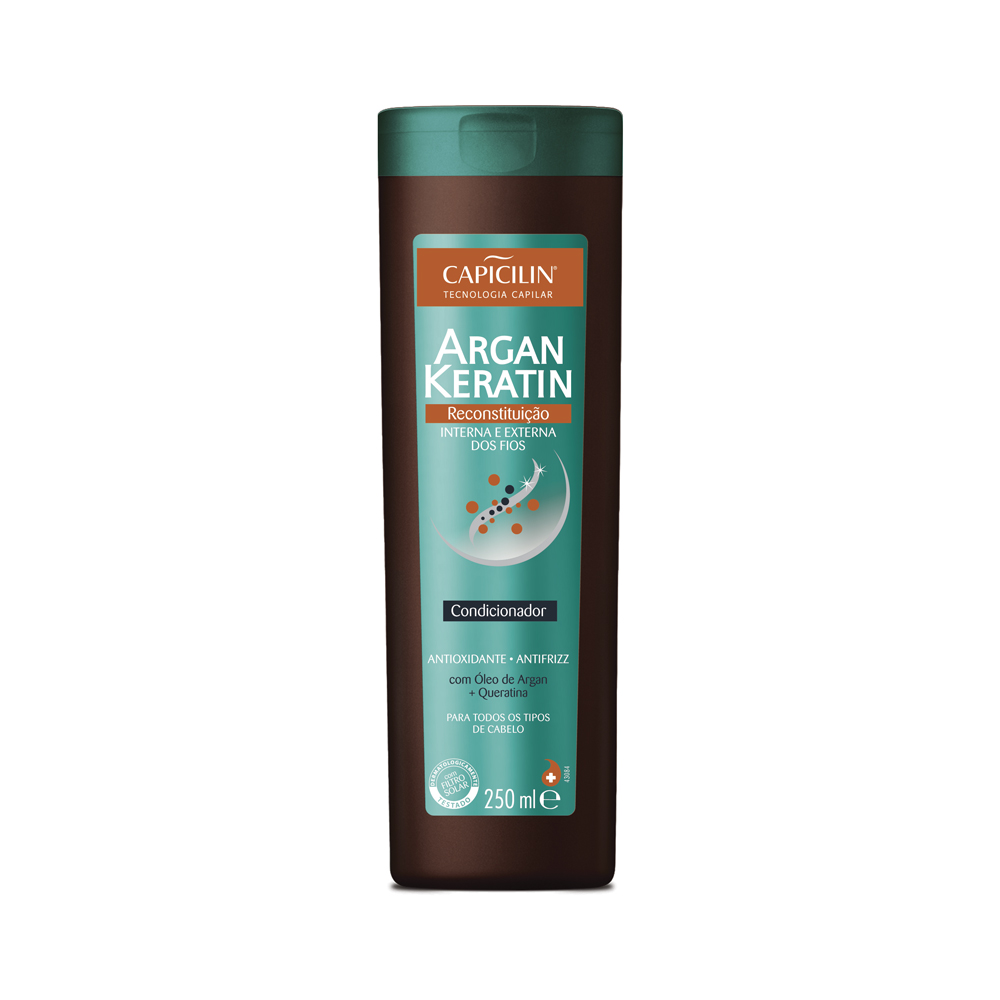 Condicionador Capicilin Argan Keratin 250ml