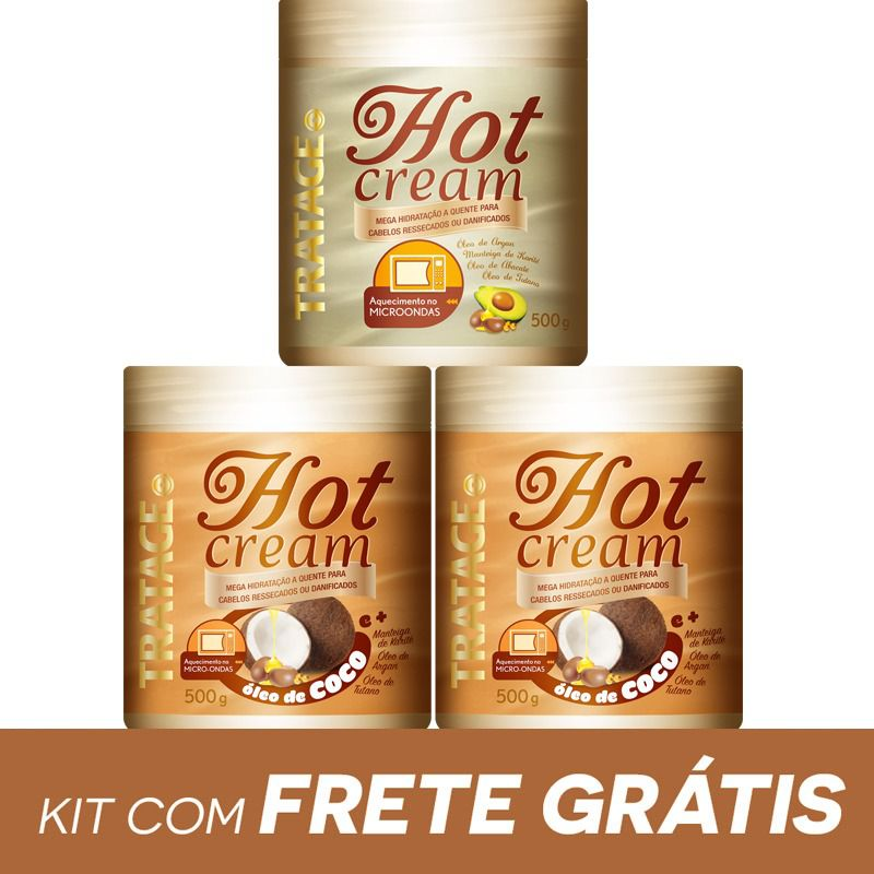 KIT HOT CREAM TRATAGE