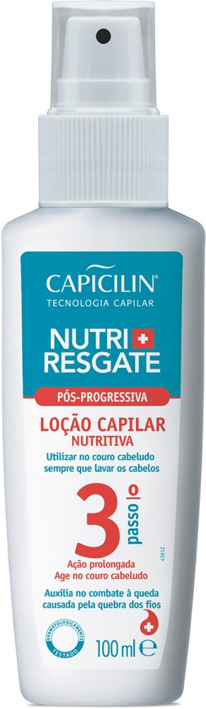 Loção Capilar Nutritiva Nutri + Resgate 100ML