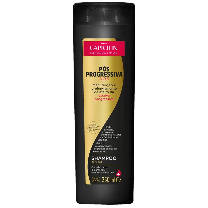 Shampoo Pós Progressiva S.O.S 250ml