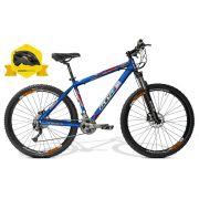 Bicicleta GTSM1 Advanced 2.0 aro 29  Kit Shimano Alivio 27v. Hidráulico Brinde Capacete