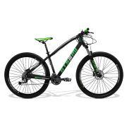 Bicicleta GTSM1 I-VTEC aro 29 kit shimano alívio hidráulico octalink 27 marchas suspensão com trava no guidão | Tamanho Único