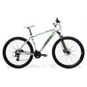 Bicicleta GTSM1 New Expert 2.0 freio a disco Hidráulico 24 Marchas Suspensão com Trava