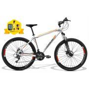 Bicicleta GTSM1 Walk 1.0 aro 29 freio a disco 24 marchas + brindes Ciclo computador + Bomba + Sinalizador