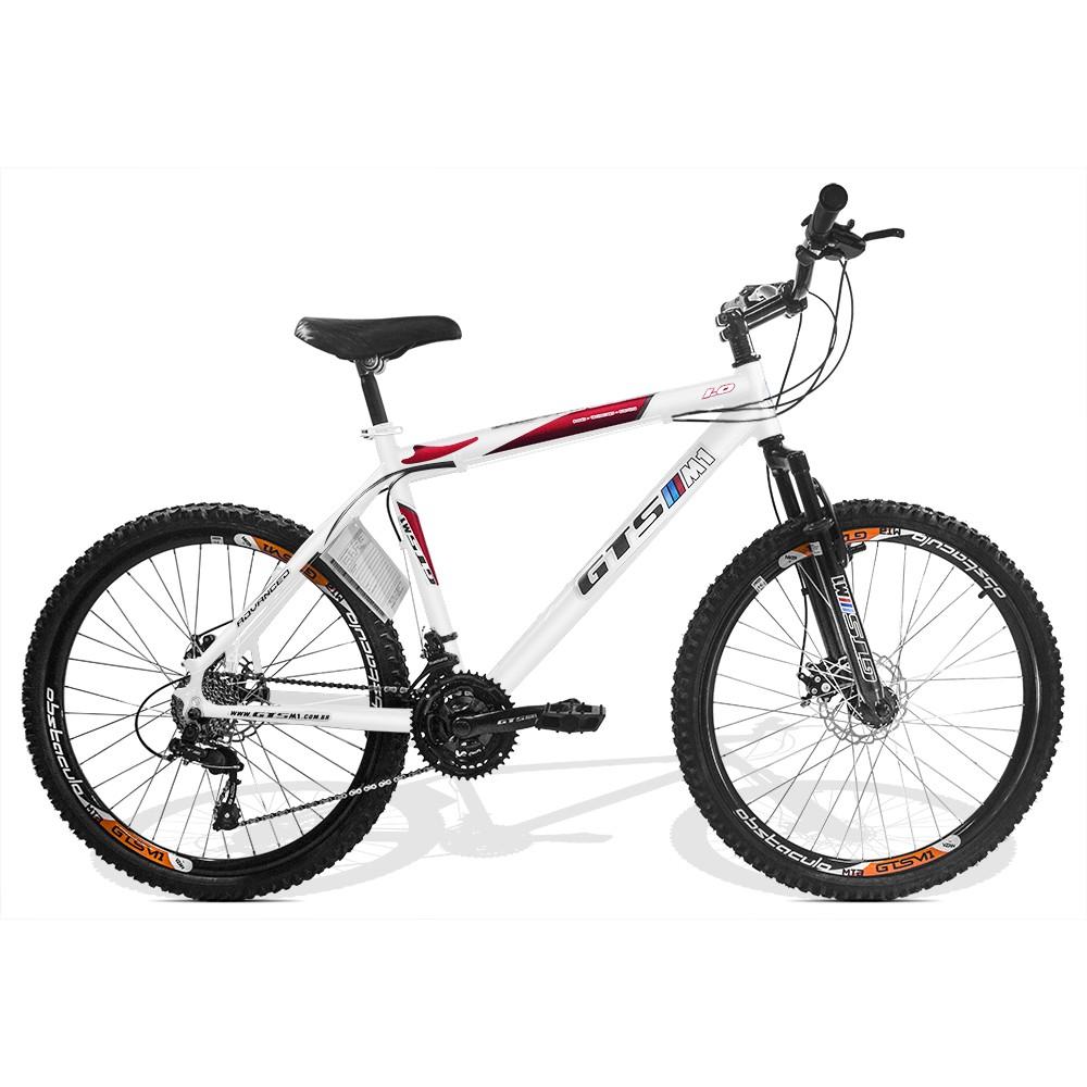 Bicicleta GTSM1 Advanced 1.0 aro 26 freio a disco 21 marchas