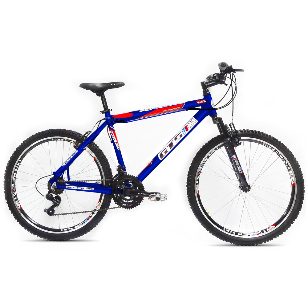 Bicicleta GTSM1 Advanced 1.0 aro 26 freio v-brake 21 marchas