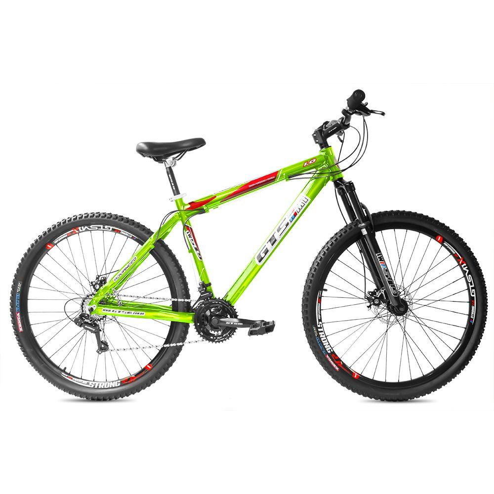 Bicicleta GTSM1 Advanced 1.0 aro 29 freio a disco 21 marchas