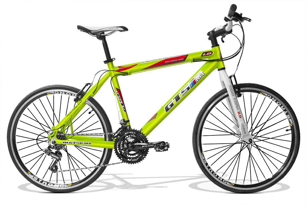 Bicicleta GTSM1 Advanced 1.0 Corrida aro 26 freio v-brake 24 marchas