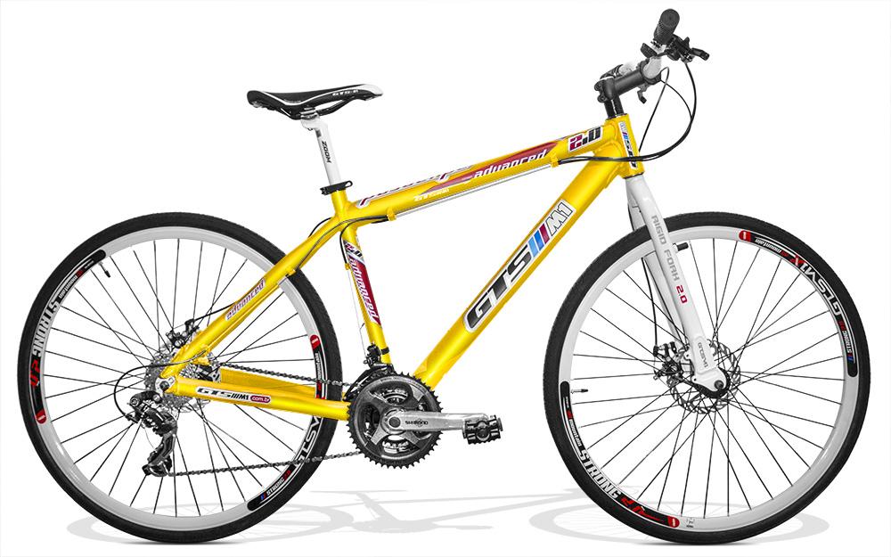 Bicicleta GTSM1 Advanced 2.0 Corrida aro 29 freio a disco 24 marchas