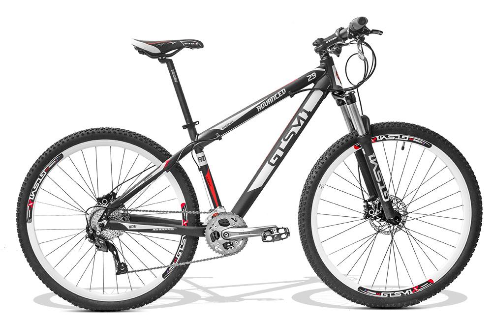 Bicicleta GTSM1 Advanced New aro 29 freio a disco shimano Al�vio 27 marchas