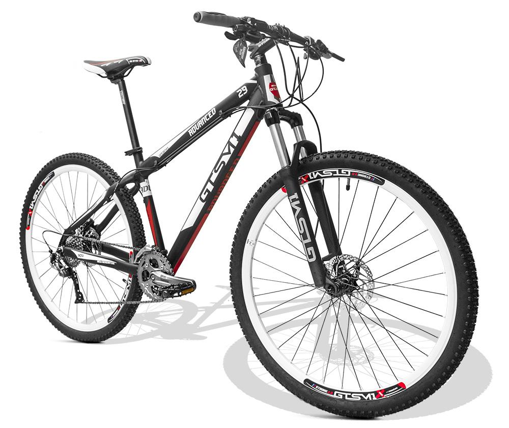 Bicicleta GTSM1 Advanced New aro 29 freio a disco shimano Alívio 27 marchas