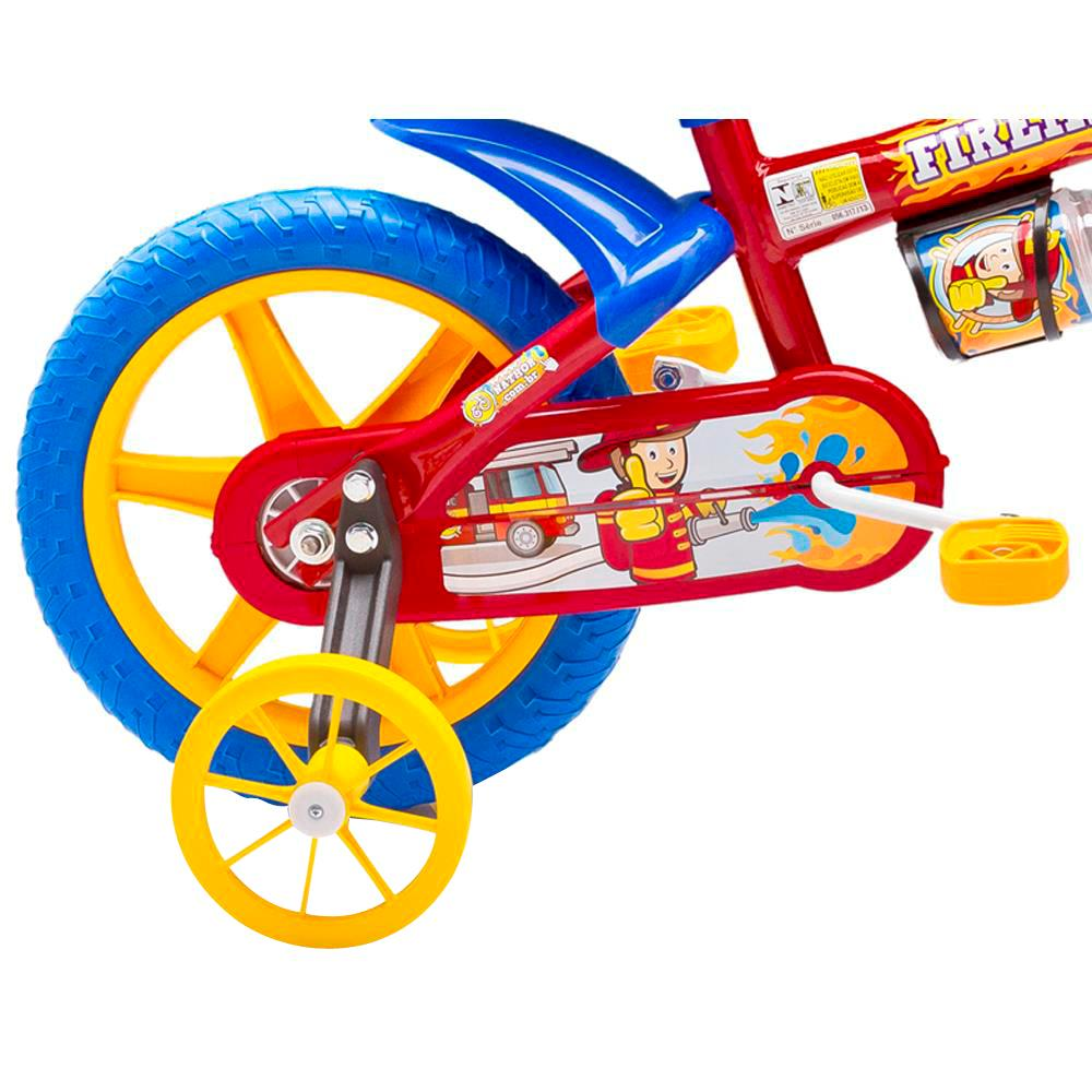Bicicleta Aro 12 Fireman Nathor