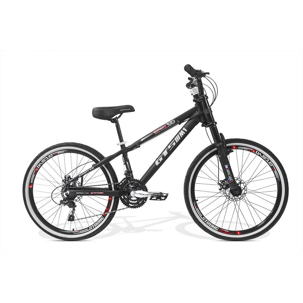 Bicicleta GTSM1 Expert 2.0 Freeride aro 26 freio a disco 21 marchas