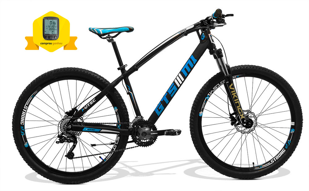 Bicicleta GTSM1 I-VTEC aro 29 Absolute hidráulico  27 marchas suspensão com trava |  Tamanho Único + BRINDE CICLO COMPUTADOR