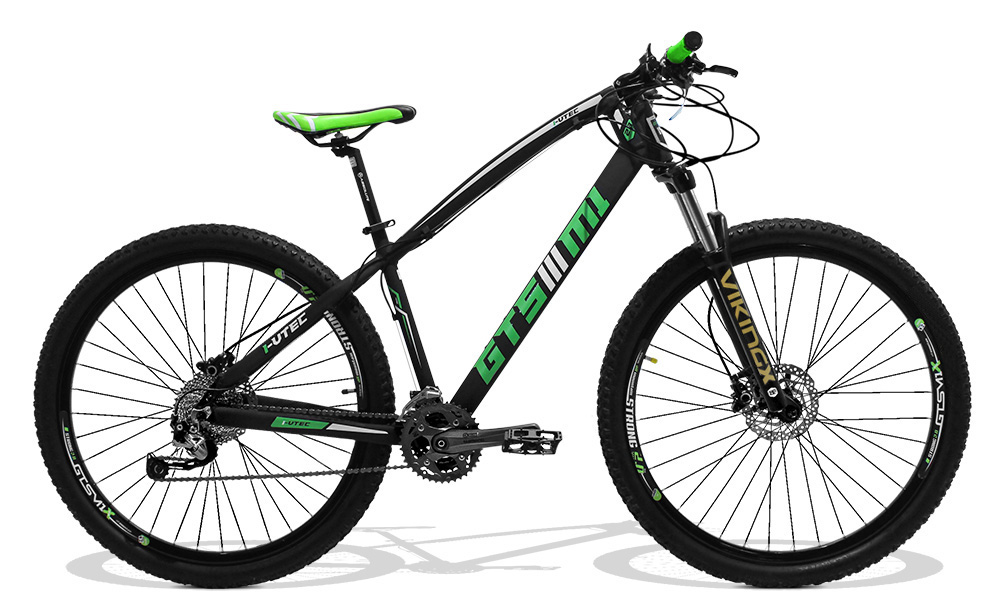 Bicicleta GTSM1 I-VTEC aro 29 kit shimano al�vio hidr�ulico octalink 27 marchas suspens�o com trava no guid�o   Tamanho �nico