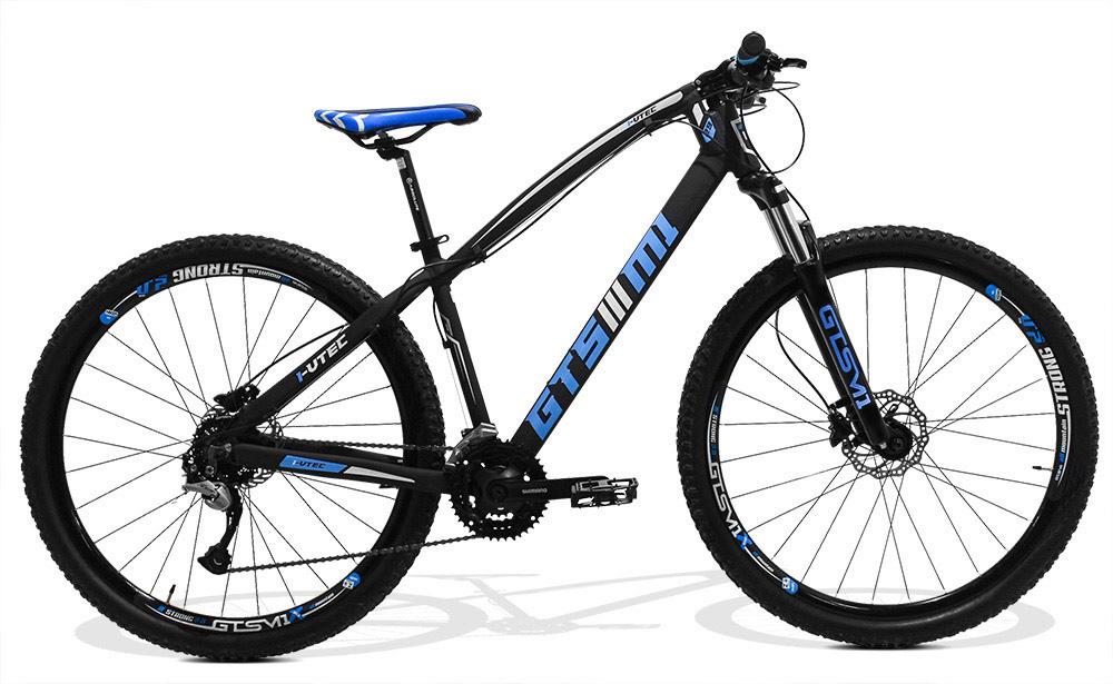 Bicicleta GTSM1 I-VTEC aro 29 shimano Acera hidráulico  27 marchas suspensão com trava