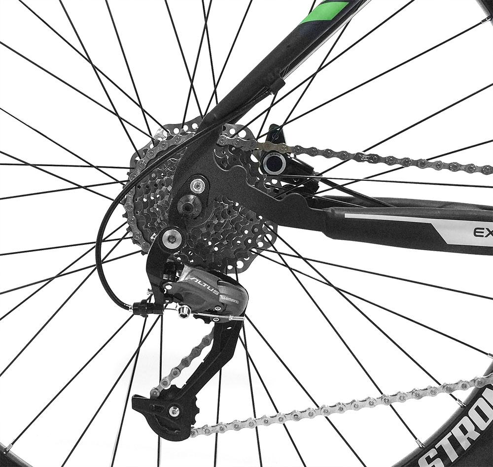 Bicicleta GTSM1 New Expert 2.0 aro 29 freio a disco hidráulico 27 marchas e suspensão com Trava + Brinde Protetor de Quadro