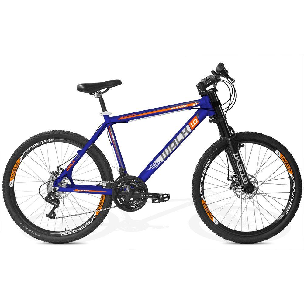 Bicicleta GTSM1 Walk Downhill aro 26 freio a disco 21 marchas