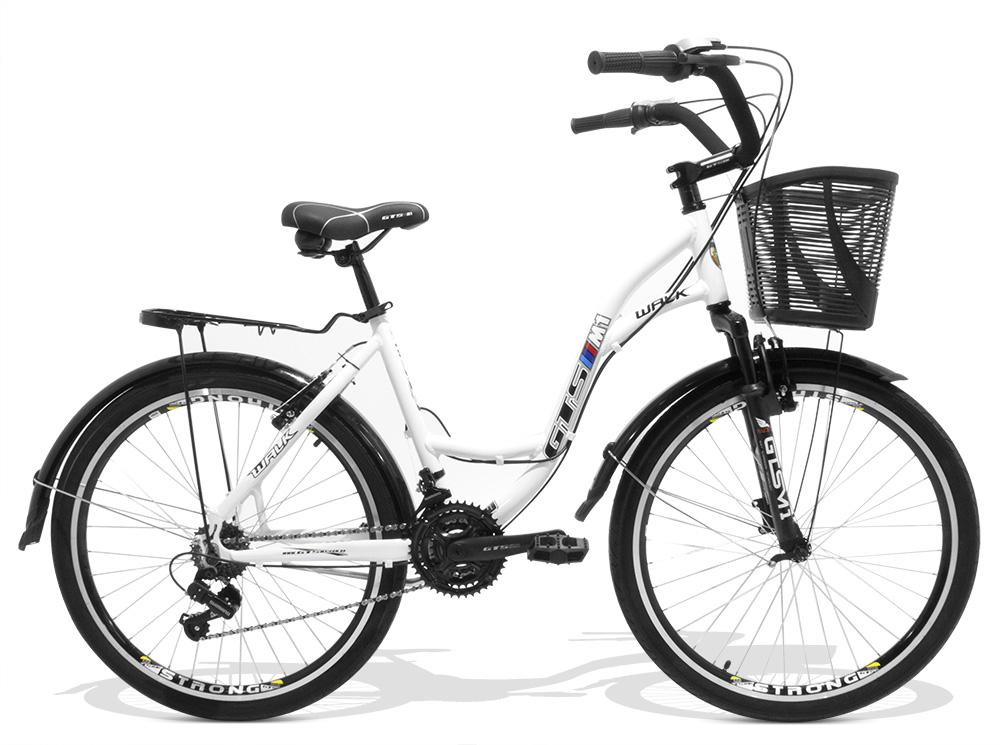 Bicicleta GTSM1 Walk Urbano aro 26 freio v-brake 21 marchas
