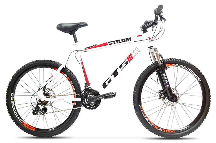 Bicicleta GTSM1 Stilom 2.0 aro 26 freio a disco 21 marchas