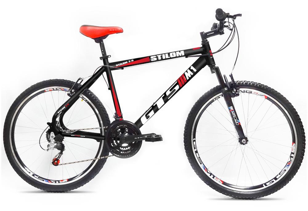 Bicicleta GTSM1 Stilom 2.0 aro 26 freio v-brake 21 marchas